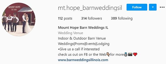 Instagram Mt Hope