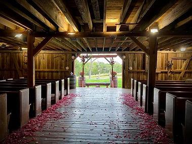 Breathtaking Indoor Ceremony