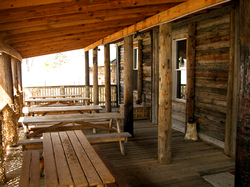 White Tales Lodge Porch