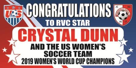 2019-RVC Crystal Dunn Banner-congrats fn
