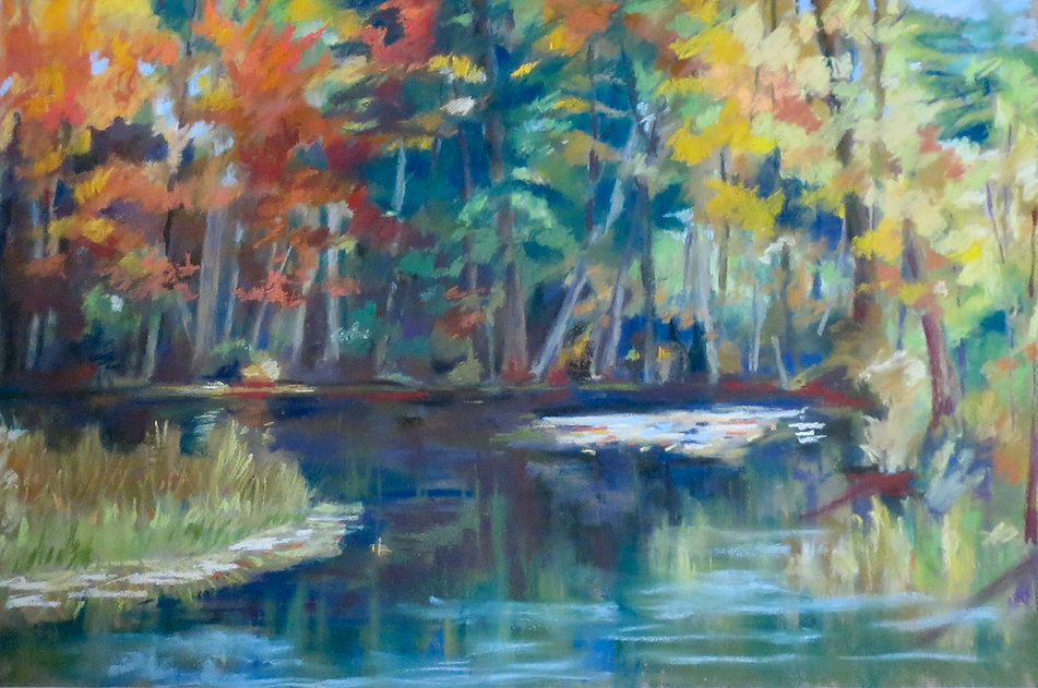 Downeast Autumn by Marcia Brandwein
