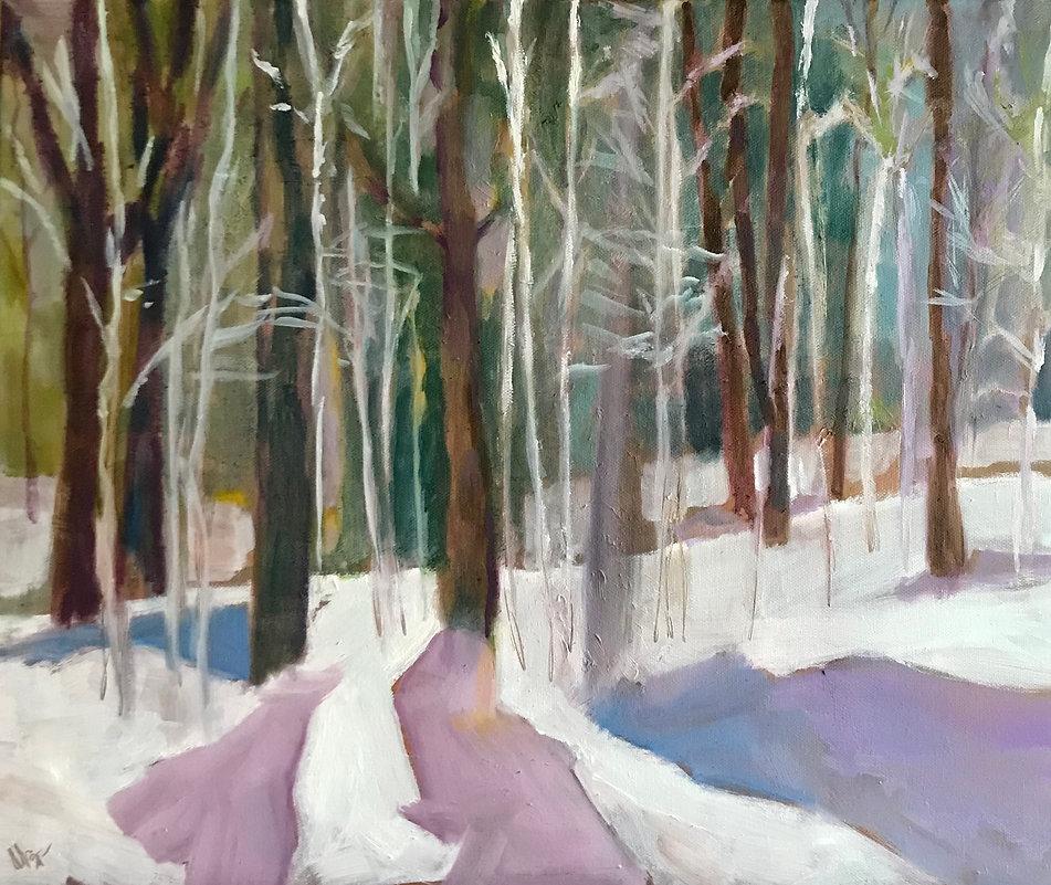 Winter Forest by Marcia Brandwein