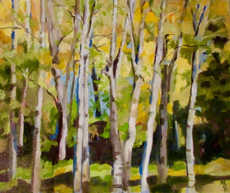Golden Spring by Marcia Brandwein