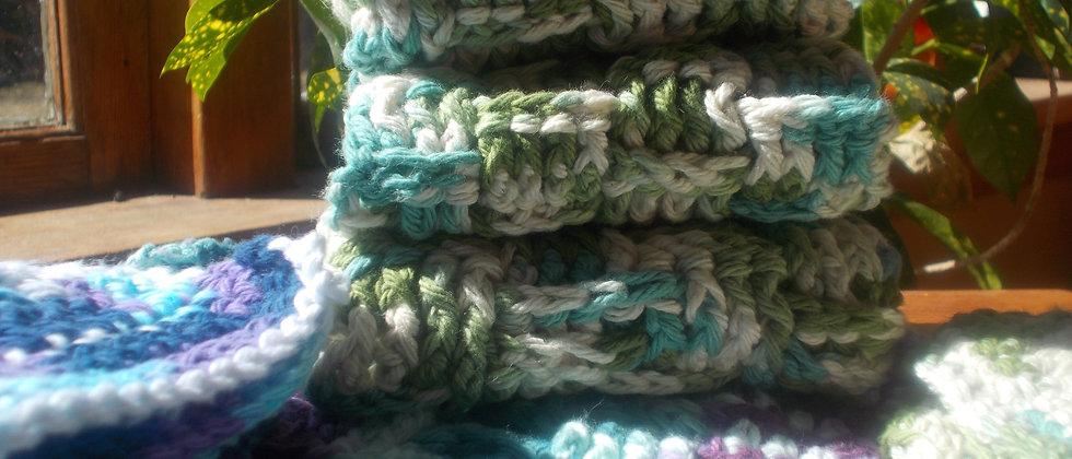 Hand Crochet Face Cloth