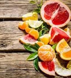 lemon orange lime grapefruit with background crop