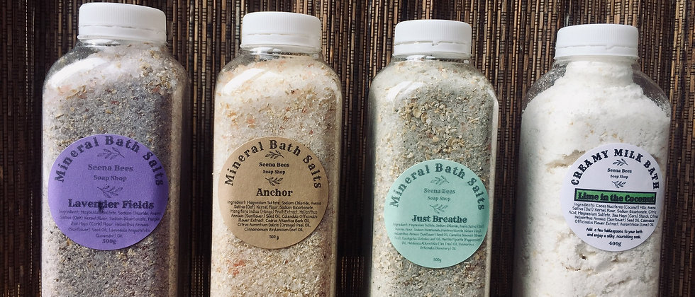 Mineral Bath Salts - Lavender Fields