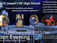 St. Joseph's Open Evening