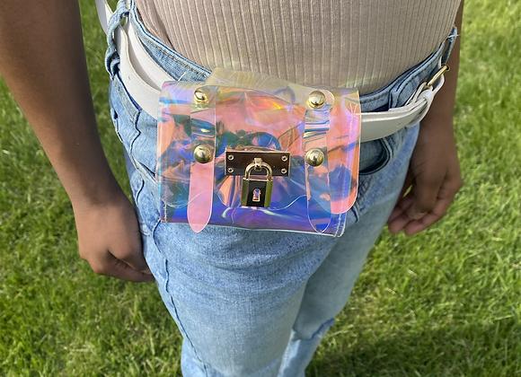 """Talk to me"" belt pouch"