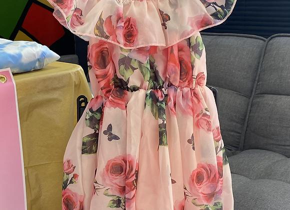 Mini bloom dress