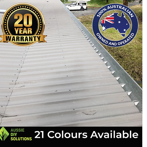 50M Trimdek Roof Pro Gutter Guard DIY Kit - 250mm wide,