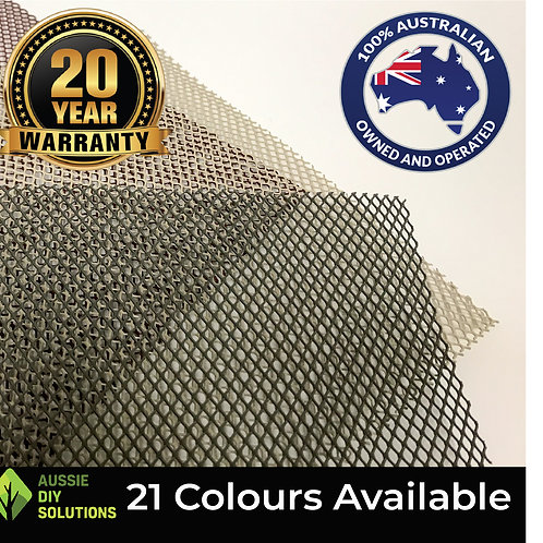 10M of 250mm wide - Aluminium Mesh Only,