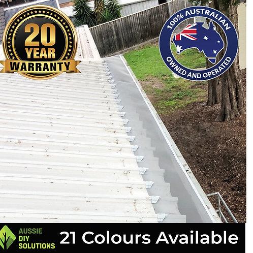 10m Klip-lock Roof Ember Guard, Woven Aluminium Mesh, Install Kit.