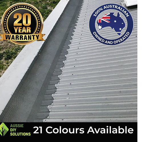 50M Corrugated Roof To Box Gutter Pro Gutter Guard DIY Kit - 500mm wide,