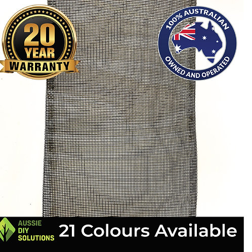 10M of 500mm wide - Woven Aluminium Mesh Only,
