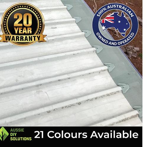 10m Trim-Deck Roof Ember Guard, Woven Aluminium Mesh, Install Kit.