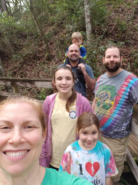 Hiking with the fam