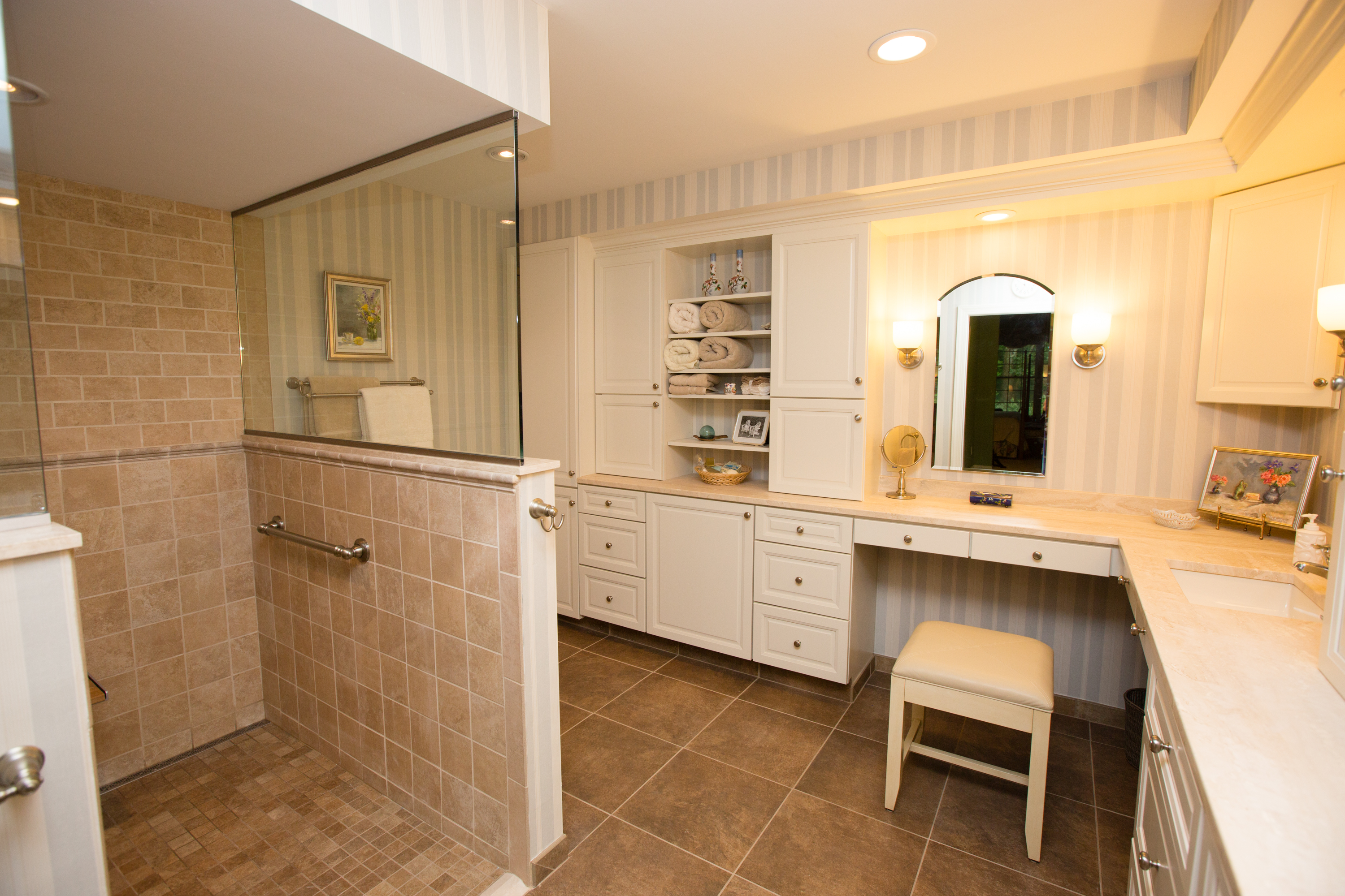 Aging-In-Place Bathroom