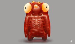 Timm, the Translucent Alien