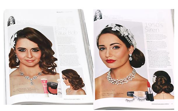 Katie Dawson Editorial Makeup Artist Adelaide, Brides of Adelaide Magazine