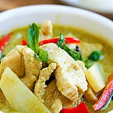 32. GREEN CURRY+side of  jasmine thai rice