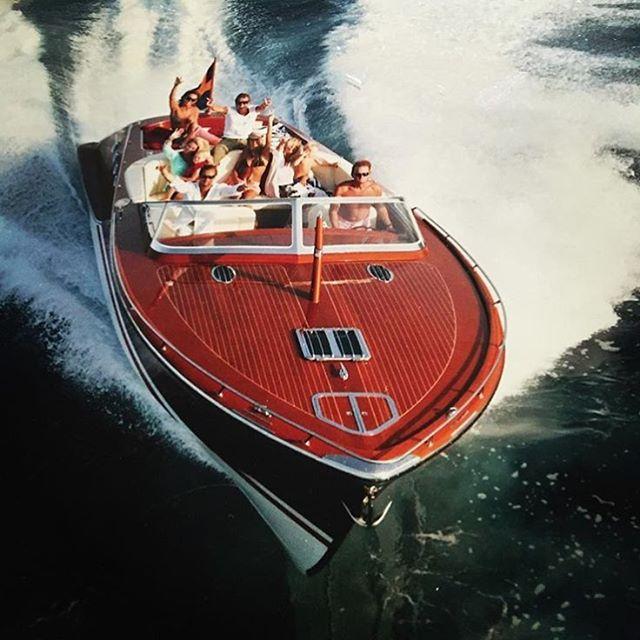 Laissez la mer! ☀️💦✌🏻️by _jcraftboats #santropa