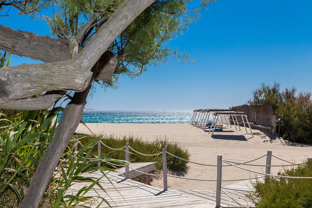 Pampelonne Beach em Saint-Tropez