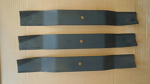Rhino BR60 Rear Discharge Finish Mower Blades Set of 3 Code 00775015