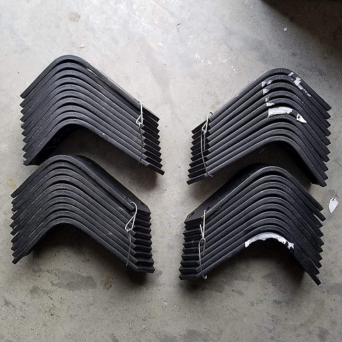 Replacement Tines for Bush Hog RTH-RTX Tillers 20 Each 130079L, RH & 130080L, LH