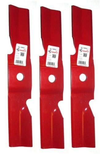 Set of 3 Hi-Lift Blades Exmark Lazer Z HP Triton 50'' Decks 109-6461/109-6461-S