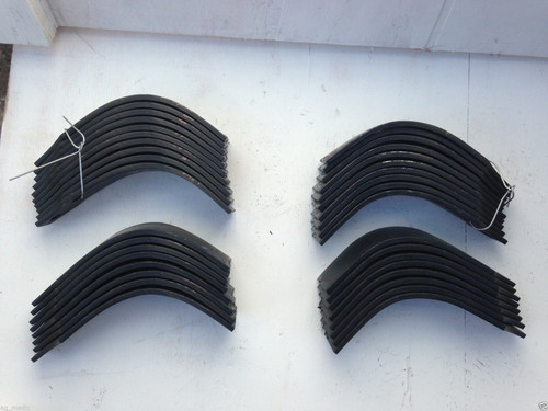 42 Tines for Land Pride RTR2555  codes 820-057C 820-058C 21 each