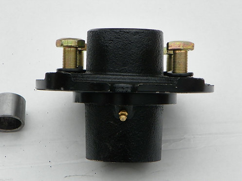 """Replacement 4 Bolt Tailwheel Hub with Tapered Roller Bearings for 1"""" Axle"""