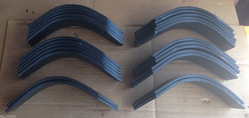 """First Choice Tiller Tine, Fits RT10-42"""", Full set of 24 Tines 12 LH and 12 RH"""