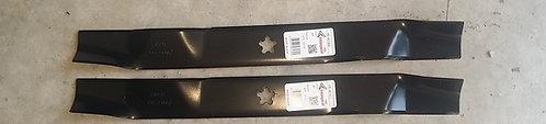 Set Of 2 Blades Replaces AYP 134149 532134149 HUSQVARNA 532 13 41-49 Mulcher