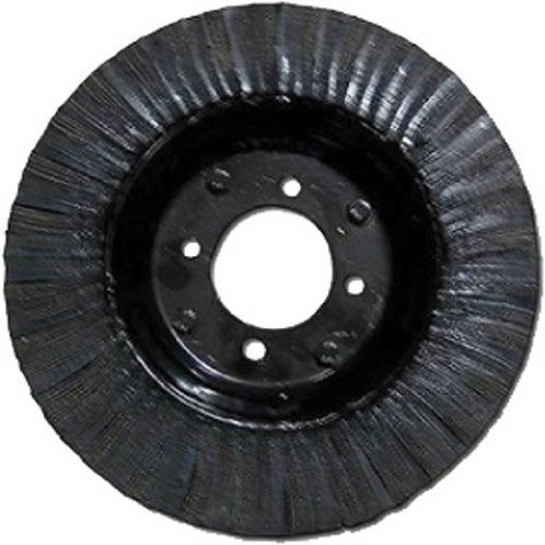 """LT:6x9/4 20"""" X 5.25"""" Laminated Tire and Wheel with 4 Lug Mounting"""