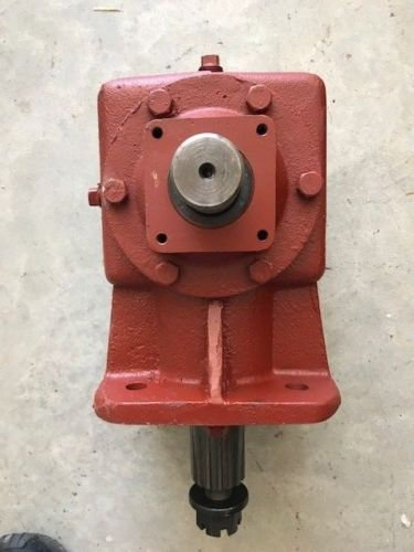 "Howse 50PRC51147 Gearbox 1-3/8"" Smooth input 2"" X 15 Spline output Ffts"