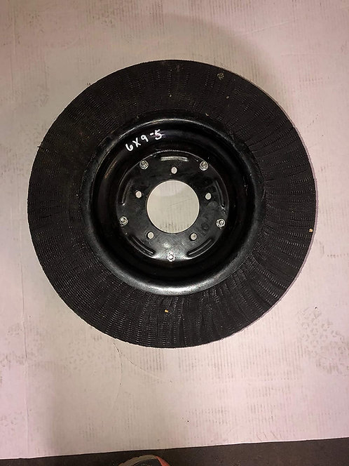 """LT:6x9/5 20"""" X 5.25"""" Laminated Tire and Wheel with 5 Lug Mounting"""