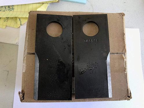 Bush Hog Disc Mower Blade, 25 Each 00787166 and 00787167 Fits HMG 48X108X4mm