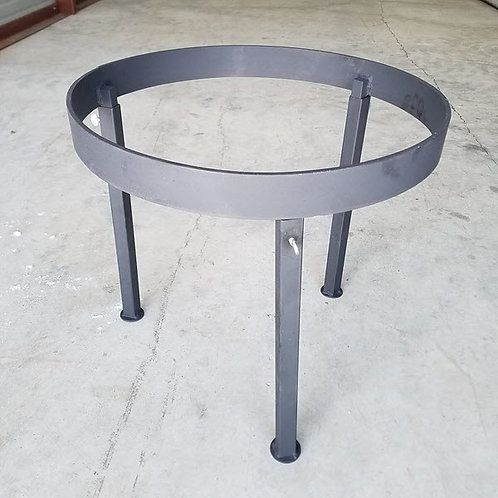 Open Fire Cooking Stand with Removeable Legs, Works great with our Discada's