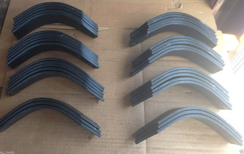 """First Choice Tiller Tine, Fits RT10-54"""", Full Set of 36 Tines 18 LH and 18 RH"""