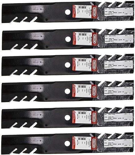 6 Pack Oregon 96-310 Gator Mulcher Blade for Exmark 403148 103-2517 103-6581 ;su