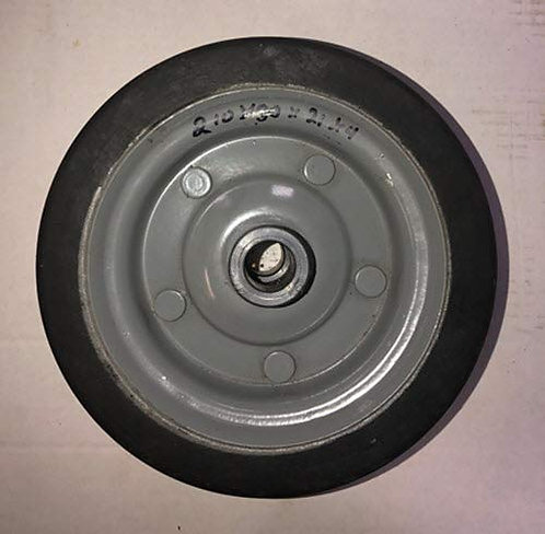 "Finish Mower Wheel, Fits Several China Finish Mowers 8-1/4"" Diameter 3/4"" bore"