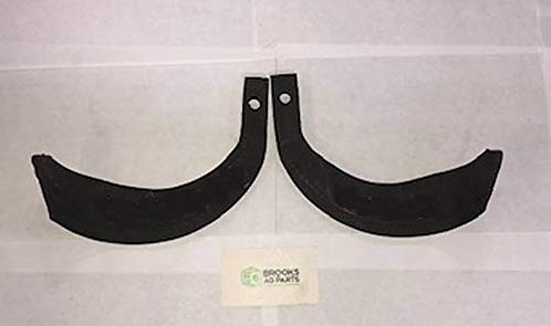 One Each Right and Left Hand Tine for Mitsubishi Tillers 10mm Mounting Holes