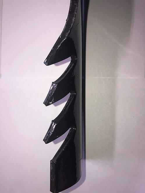 """3 HD G6 Gator Style Hi Lift Blades 60"""" Exmark 103-2530 Tungeston Tip 5/8"""" CH"""