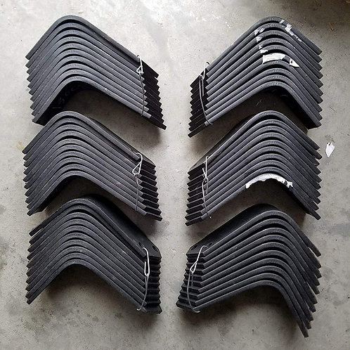 Replacement Tines for Bush Hog RTH-RTX Tillers 30 Each 130079L, RH & 130080L, LH