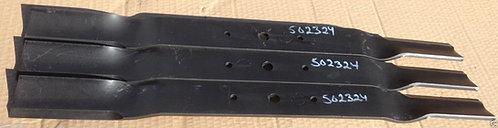 County Line FM 6 Finish Mower Blades Set of Three (3) code 502324