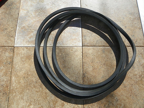 """King Kutter 72"""" Finish Mower Belt 167148 and Tension Spring"""