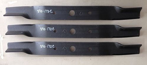 "Set of 3 Blades for Land Pride 72"" Cut Finish Mowers, Code 890-172C"