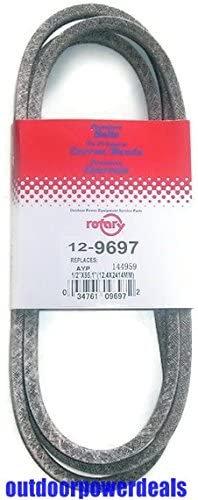 Craftsman Ayp 144959, 138255, 130801 Made With Kevlar Rotary 9697