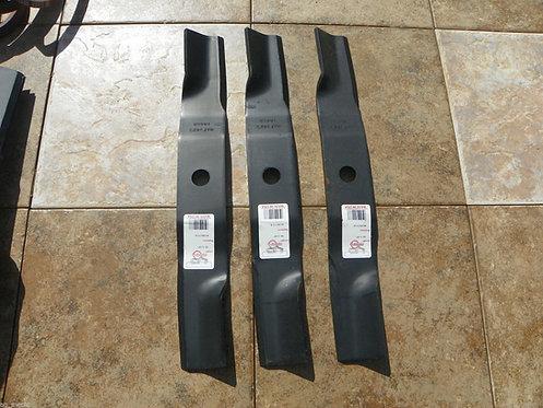 """54"""" Cut Kubota Blades, Set of 3, Code K5619-34350, K446 Blades"""