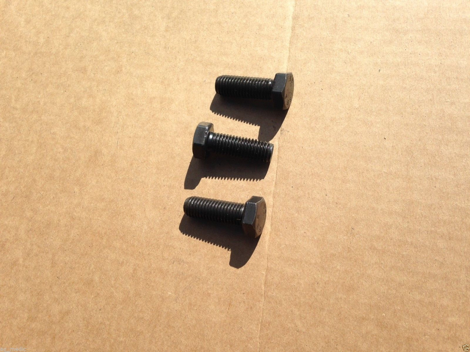 Replcement Sovema Finish Mower Blade Mounting Bolts, Set of 3 (Left Hand  Thread)   brooksagparts
